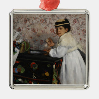 Portrait d'Edgar Degas | de Mlle. Hortense Ornement Carré Argenté