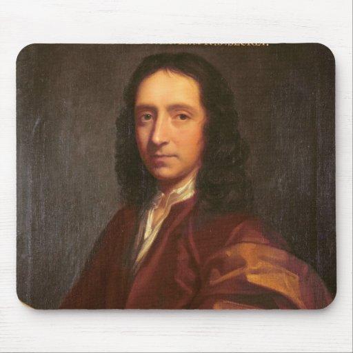 Portrait d'Edmond Halley, c.1687 Tapis De Souris