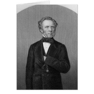 Portrait d'Edouard Baines Carte De Vœux