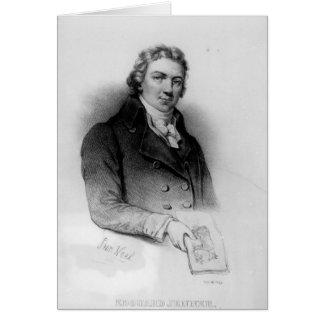 Portrait d'Edouard Jenner Carte De Vœux