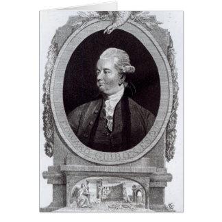 Portrait d'Edward Gibbon Carte De Vœux