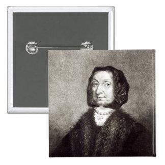 Portrait d'Elizabeth Cromwell Badges
