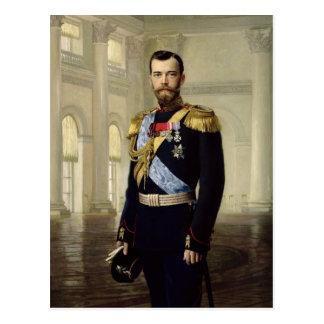 Portrait d'empereur Nicholas II, 1900 Carte Postale