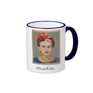 Portrait d'en Coyoacán de Frida Kahlo Mug Ringer