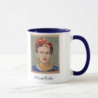 Portrait d'en Coyoacán de Frida Kahlo Mugs