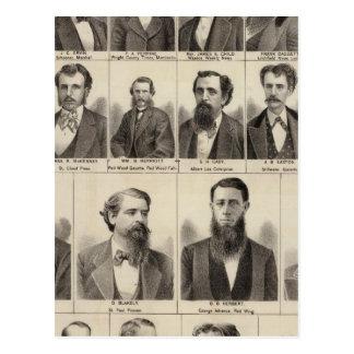 Portrait des rédacteurs et de l'Exeditors, Minneso Carte Postale