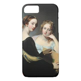 Portrait des soeurs de McEuen, après 1823 Coque iPhone 7