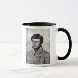 Portrait d'Evariste Galois Tasses