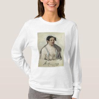 Portrait d'Ivan Annenkov en prison de Peter, 1836 T-shirt