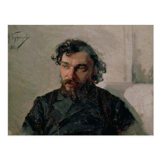 Portrait d'Ivan Pochitonov, 1882 Carte Postale