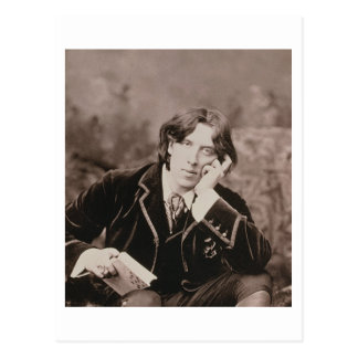 Portrait d'Oscar Wilde (1854-1900), 1882 (pho de b Cartes Postales