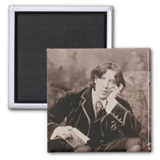 Portrait d'Oscar Wilde (1854-1900), 1882 (pho de b Magnet Carré
