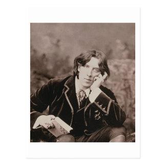 Portrait d'Oscar Wilde (1854-1900), 1882 (pho de Carte Postale