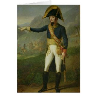 Portrait du Général Charles Victor Cartes De Vœux