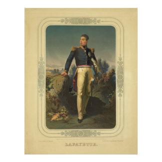 Portrait du Général français marquis De Lafayette Photographe