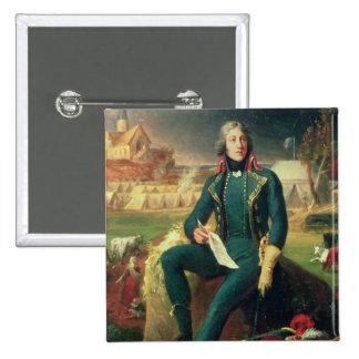 Portrait du Général Louis-Lazare Hoche Badges