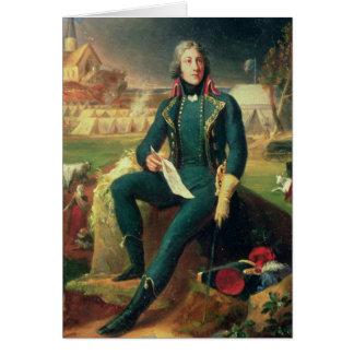 Portrait du Général Louis-Lazare Hoche Carte De Vœux