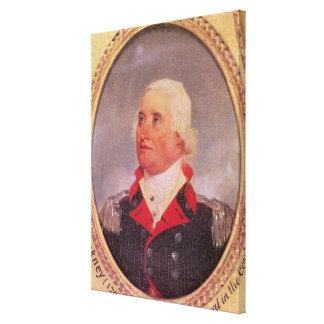 Portrait du Général principal Charles C. Pinckney Toile Tendue Sur Châssis