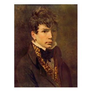 Portrait du jeune Ingres par Jacques David Carte Postale
