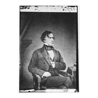 Portrait du Président Franklin Pierce par M Brady Impressions Sur Toile