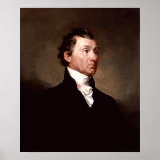 Portrait du Président James Monroe Poster