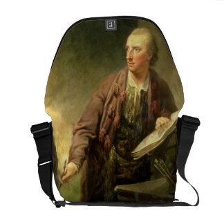 Portrait d'un artiste, traditionnellement cru à b sacoche