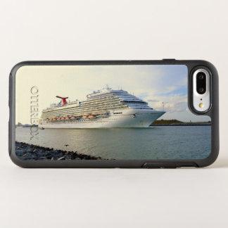 Portrait d'un bateau de croisière de dépassement coque otterbox symmetry pour iPhone 7 plus