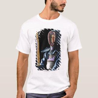Portrait d'un escrimeur 2 de Kendo T-shirt
