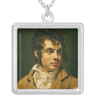 Portrait d'un homme 2 pendentif carré
