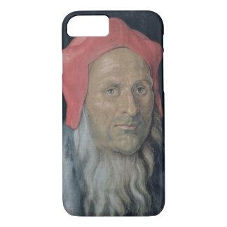 Portrait d'un homme barbu dans Red Hat, 1520 Coque iPhone 7