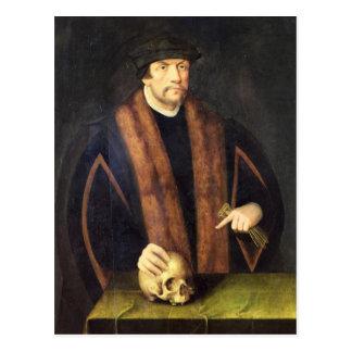 Portrait d'un homme, c.1550 carte postale