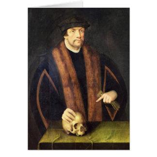 Portrait d'un homme, c.1550 cartes