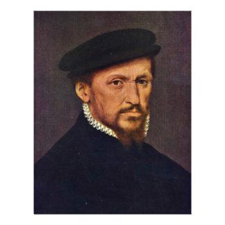Portrait d'un homme par Willem principal (la meill Prospectus