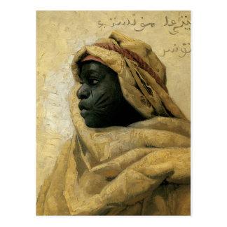 Portrait d'un Nubian Carte Postale