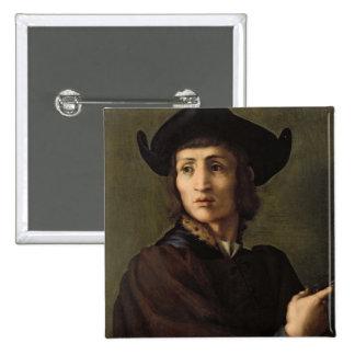 Portrait d'un orfèvre badges