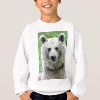 Portrait d'un ours sweatshirt