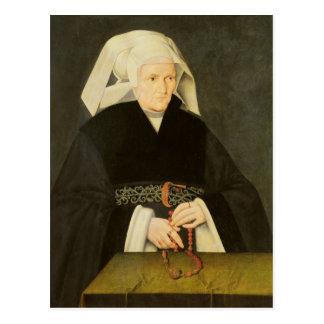 Portrait d'une femme, c.1550 carte postale