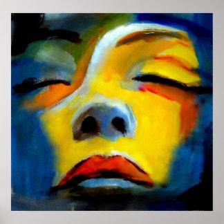 """Portrait d'une femme de sommeil """"beauté de sommeil posters"""