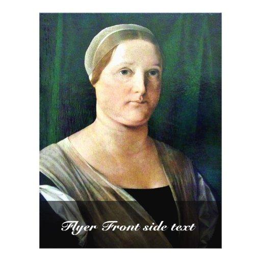 Portrait d'une femme par le loto Lorenzo (la meill Prospectus Personnalisés