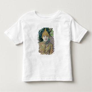 Portrait d'une femme, probablement la danseuse t-shirt pour les tous petits