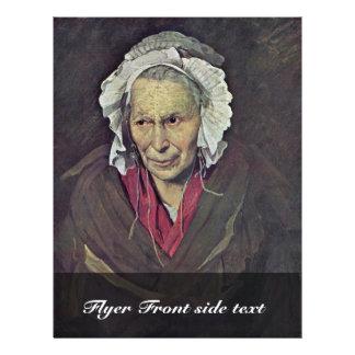 Portrait d'une femme souffrant de l'envie prospectus 21,6 cm x 24,94 cm