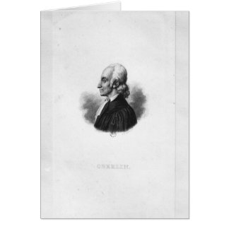 Portrait en Jean Frederic Oberlin Cartes