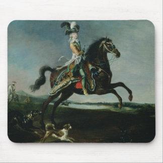 Portrait équestre de Marie-Antoinette Tapis De Souris