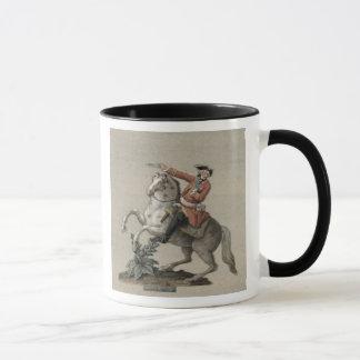 Portrait équestre de prince Charles Mug