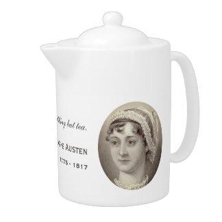 Portrait et citation de Jane Austen… rien mais thé