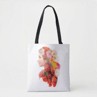 Portrait floral sac