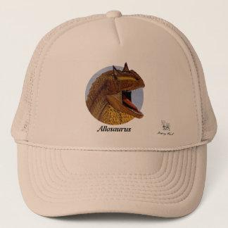 Portrait Gregory Paul d'Allosaurus de casquette de