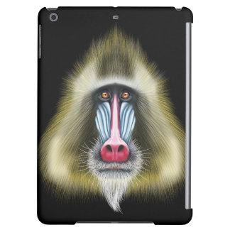 Portrait illustré de singe de Mandrill