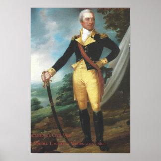 Portrait intégral de John Laurens Poster