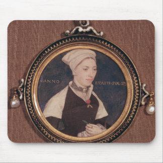 Portrait miniature de Jane petit Tapis De Souris
